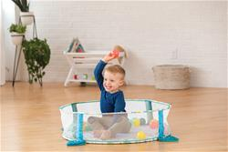 Baby products wholesaler of Infantino 3-in-1 Jumbo Activity Gym & Ball Pit