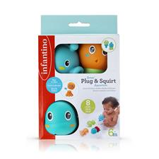 Baby products wholesaler of Infantino Senso Plug & Squirt Aquarium