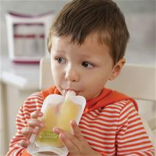Baby products wholesaler of Infantino Squeeze Pouches 50Pk