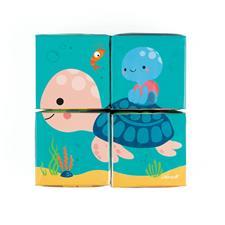 Baby products wholesaler of Janod Bath Cubes 4Pk