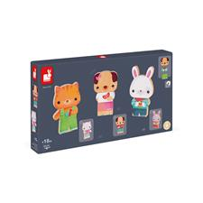 Baby products wholesaler of Janod Funny Magnets Pets