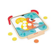 Baby products wholesaler of Janod I am Learning Colours - Magnetic Chips