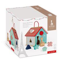 Baby products wholesaler of Janod Sophie La Girafe Shape Sorting House