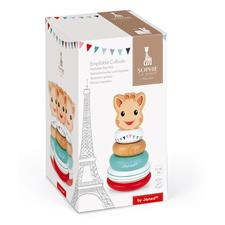 Baby products wholesaler of Janod Sophie La Girafe Stackable Roly-Poly
