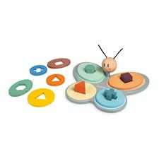 Baby products wholesaler of Janod Sweet Cocoon Butterfly Shape Sorter