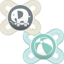 Baby products wholesaler of MAM Start Soother 0-2m 2Pk