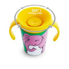 Baby products wholesaler of Munchkin Miracle 360 Trainer Cup WildLove Asst 177ml
