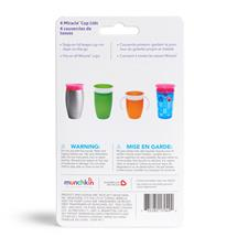 Baby products wholesaler of Munchkin Miracle Cup Lids 4pk