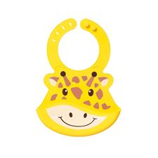Baby products wholesaler of Nuby Roly Poly Animal Face Bib