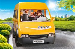 Baby products wholesaler of Playmobil City Life School Van with Folding Ramp