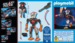 Baby products wholesaler of Playmobil Galaxy Police Space Pirates Robot