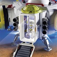 Baby products wholesaler of Playmobil Space Mars Space Station with Functioning Double Laser Shooter