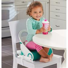 Baby products wholesaler of Summer Infant Sit N Style Booster Seat Teal/White