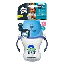 Baby products wholesaler of Tommee Tippee Soft Sippee Trainer Cup 230ml