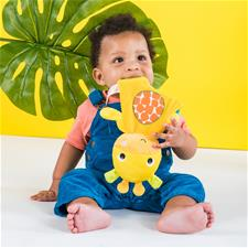 Baby products wholesaler of Bright Starts Snuggle & Teethe Giraffe