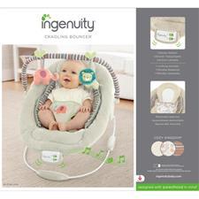Ingenuity Cradling Bouncer in Cozy Kingdom