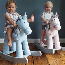 Little Bird Told Me Moonbeam & Rae Rocking Unicorn 12m+