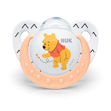 NUK Winnie The Pooh Silicone Soother 6-18m 2Pk