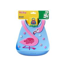 Nursery products distributor of Nuby 3D Silicone Bib