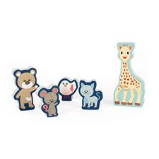 Supplier of Janod Sophie La Girafe Chunky Puzzle 5pc