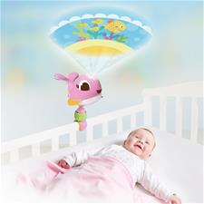 Tiny Love Suzie Take-Along Projector Soother Pink