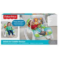 UK wholesaler of Fisher-Price Infant to Toddler Rocker Blue