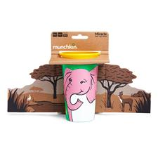 Wholesale of Munchkin Miracle 360 WildLove Sippy Cup Elephant 266ml