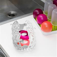 Baby products supplier of Boon CLUTCH Dishwasher Basket - Grey
