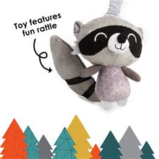 Baby products supplier of Diono Harness Soft Wraps & Linkie Toy Raccoon