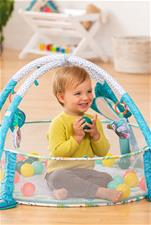 Baby products supplier of Infantino 3-in-1 Jumbo Activity Gym & Ball Pit