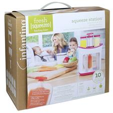 Baby products supplier of Infantino Squeeze station