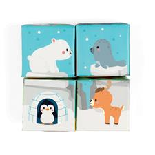 Baby products supplier of Janod Bath Cubes 4Pk