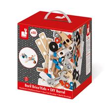 Baby products supplier of Janod Brico Kids DIY Barrel 50Pc