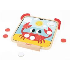 Baby products supplier of Janod I am Learning Colours - Magnetic Chips