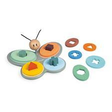 Baby products supplier of Janod Sweet Cocoon Butterfly Shape Sorter