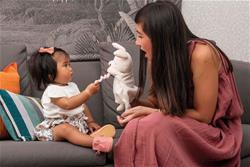 Baby products supplier of Kaloo Kachoo Plush Puppet Robin Rabbit