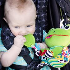 Baby products supplier of Lamaze Jibber Jabber Jake