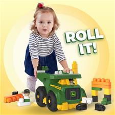 Baby products supplier of Mega Bloks John Deere Dump Truck