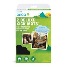 Baby products supplier of Munchkin Brica Deluxe Kick Mats 2Pk