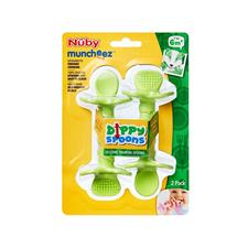 Baby products supplier of Nuby Dippy Spoons 2Pk