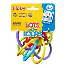 Baby products supplier of Nuby Lots Of Loops Teether