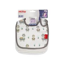 Baby products supplier of Nuby Muslin Snug n Dry Bib 2Pk