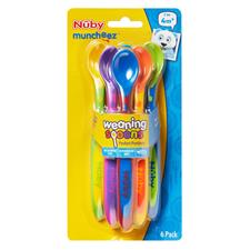 Baby products supplier of Nuby Weaning Spoons X6