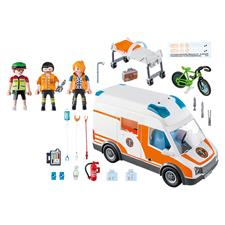 Wholesale Playmobil City Life Ambulance with Lights and ...
