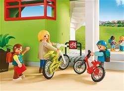 Baby products supplier of Playmobil City Life Furnished School Building with Digital Clock