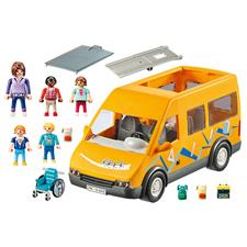 Baby products supplier of Playmobil City Life School Van with Folding Ramp