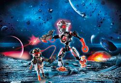 Baby products supplier of Playmobil Galaxy Police Space Pirates Robot