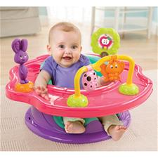 Baby products supplier of Summer Infant 3-Stage Super Seat™ Forest Friends Pink