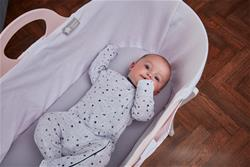 Baby products supplier of Tommee Tippee Sleepee Basket & Stand - Gentle Pink
