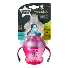 Baby products supplier of Tommee Tippee Transition Sippee Trainer Cup 4-7m
